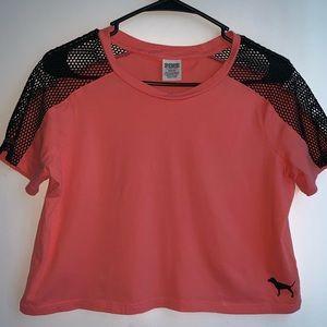 Pink brand Crop Top